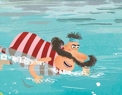 Pirate And Mermaid