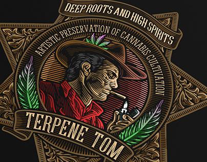 Terpene Tom Logo