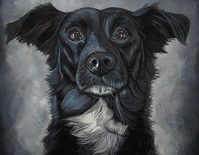 Portrait of Lulu