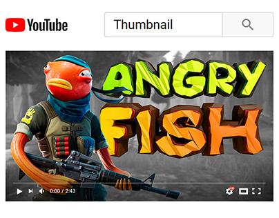 YouTube Thumbnail - Gaming video