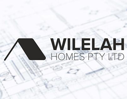 Wilelah Homes Branding