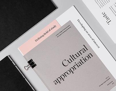 Cultural appropriation / Taste / Bore me