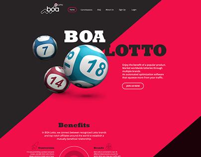 BoaLotto Website