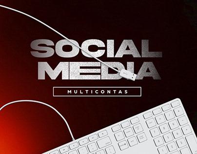 Social Media - Multicontas