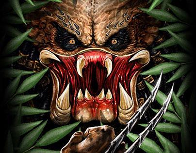 Officially Licensed Predator art