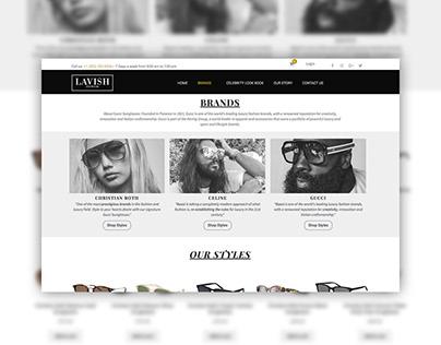 Lavish Eyewear Website