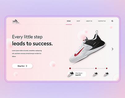 shoes webui design