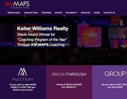 KW MAPS Coaching Rebrand + Website Redesign