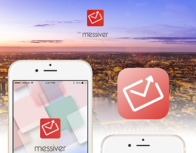 This is iOS messenger designed in Sketch3