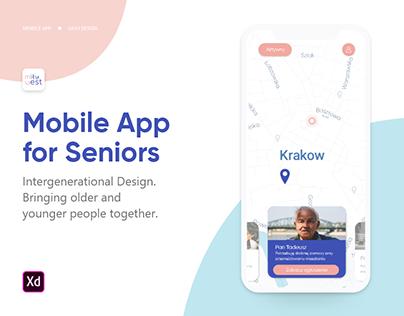 Miły Gest | Mobile App for Seniors