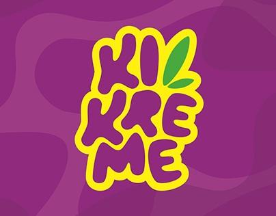 KIKREME logotipe (Brand Design)