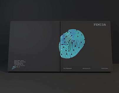 Booklet for detective agency