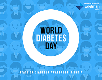 Infographic Design : World Diabetes Day