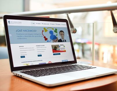DEC Consultores website