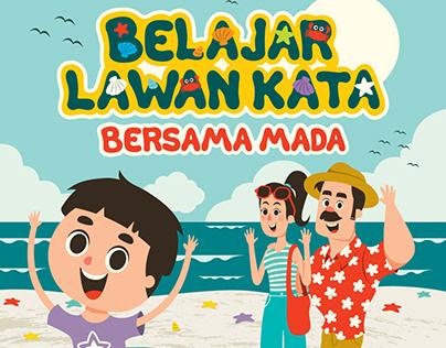 Belajar Lawan Kata Bersama Mada (Children Book)