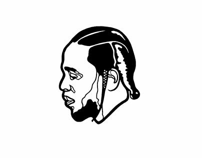 Kendrick Lamar X Don Cheadle