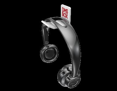 Suporte de fone de ouvido - DMX BOX