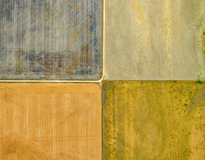 Project #17 Agricultural Aerial Land Patterns - 1