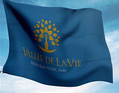 Identidade Visual Vallée de LaVie - Construtora Lider
