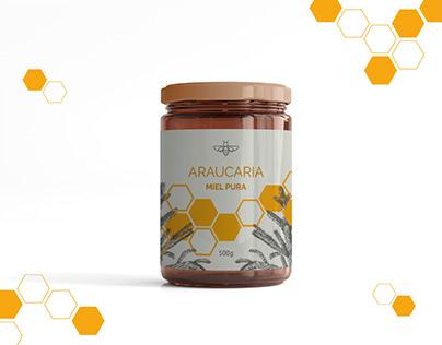 Araucaria - miel pura