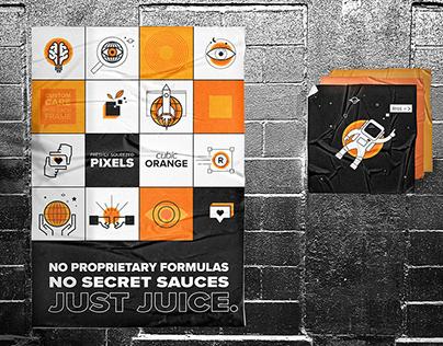 Cubic Orange - Brand ReFresh