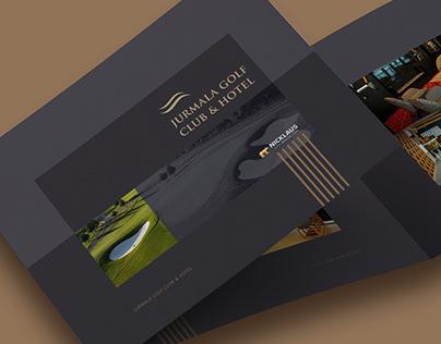 Jurmala Golf club & Hotel. Presentation brochure.