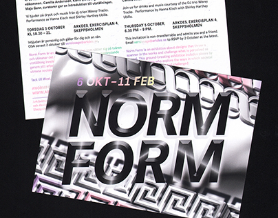ArkDes – Norm Form