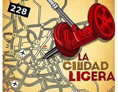 The city of lights - La ciudad ligera Madrid