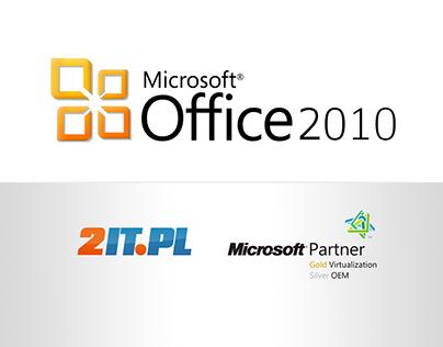 Microsoft Partner's MS Office 2010 landing page