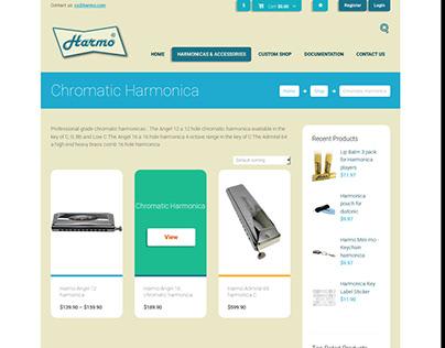 Refonte de la page Chromatic harmonica