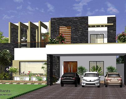 Residential Design & Render By Muhammad Ashfaq