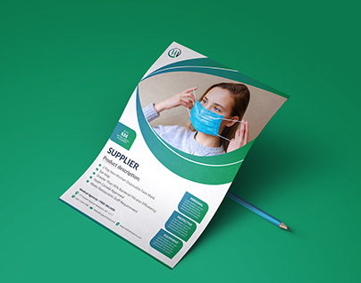 Medical Service Flyer Template