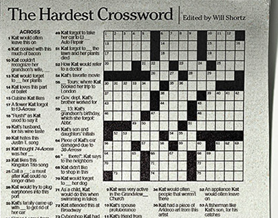 The Hardest Crossword