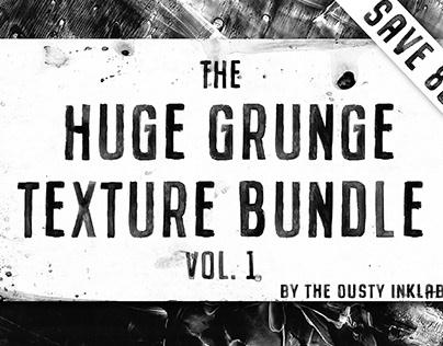The Huge Grunge Texture Bundle Vol. 1