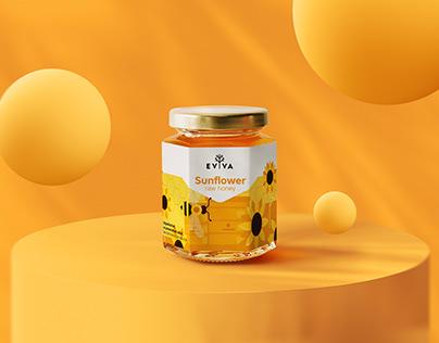 Evva Honey - Packaging & Logotype