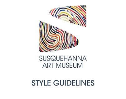 Susquehanna Art Museum Branding