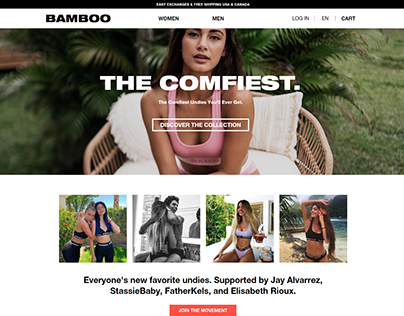Bamboo - Website Ecommerce