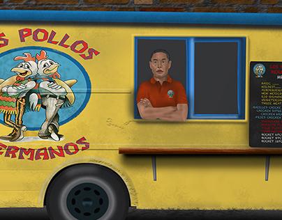 Los Pollos Hermanos food truck
