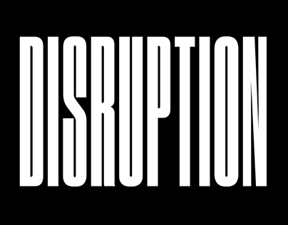 Disruption — Conference Branding