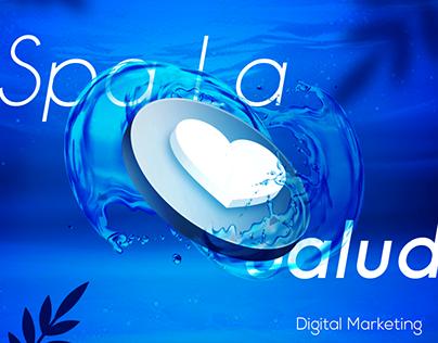 Digital Marketing design for la salud renova spa