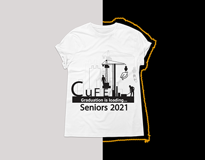 Civil Engineering graduation T-shirt Design