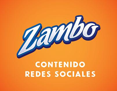 Contenido FB e IG - Zambo