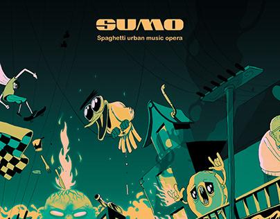Spaghetti urban music opera