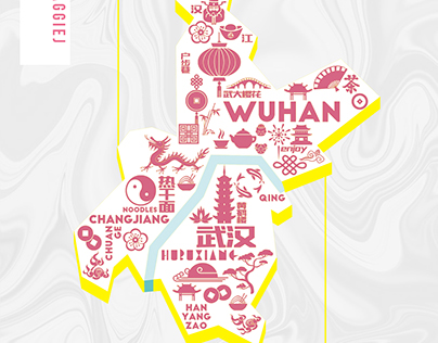 Travel book for WUHAN