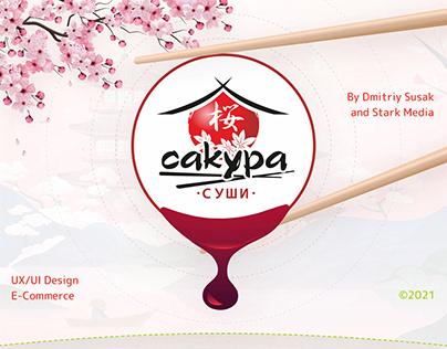 "Sushi delivery service ""Sakura sushi"" from Novosibirsk"