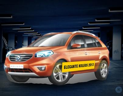 Propuesta Mapping Projection para Renault Koleos 2013