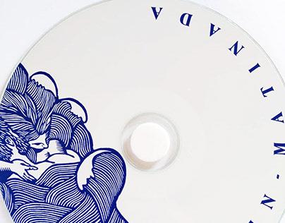 Serigrafía e ilustración - Cubierta de disco - TMN