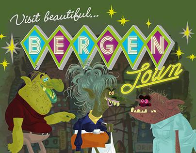 DreamWorks Trolls Bergentown Villain Apparel Graphics