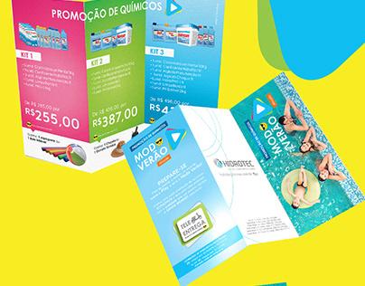 Campanha 2016 Produtos Químicos para piscina - Hidrotec