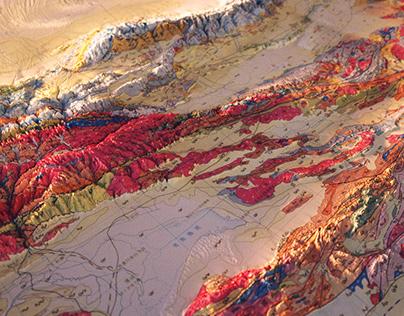 Gological maps of China